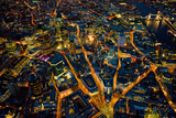Sky View London I Giclée-Druck von Jason Hawkes
