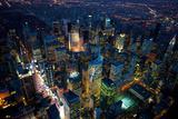 Sky View New York IV Giclée-Druck von Jason Hawkes