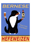 Bernese Hefeweizen 限定版アートプリント : ケン・ベイリー