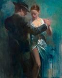 Passion I Fotografisk tryk af Michael Alford