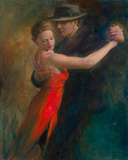 Tango II Giclée-tryk af Michael Alford