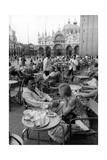 Federico Fellini and Giulietta Masina in Venice Reproduction photographique Premium par Mario de Biasi