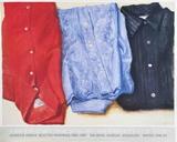 Three Shirts Samlertryk af Avigdor Arikha
