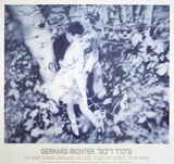 Lovers in the Forest Reproduction pour collectionneur par Gerhard Richter