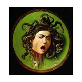 Medusa Giclée-vedos tekijänä  Caravaggio