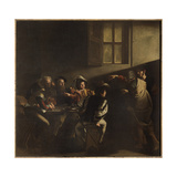 The Calling of St Matthew Giclée-tryk af  Caravaggio