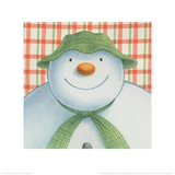 The Snowman and the Snowdog (Snowman Pattern) Posters