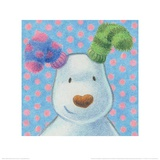The Snowman and the Snowdog (Snowdog Pattern) Posters