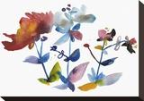 Nouveau Boheme - Island Series No. 1 Stretched Canvas Print by Kiana Mosley