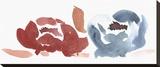 Nouveau Boheme - Folk Art Series No. 4 Stretched Canvas Print by Kiana Mosley