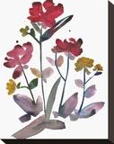 Nouveau Boheme - Island Series No. 2 Stretched Canvas Print by Kiana Mosley