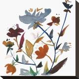 Nouveau Boheme - Folk Art Series No. 3 Stretched Canvas Print by Kiana Mosley