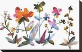 Nouveau Boheme - Island Series No. 3 Stretched Canvas Print by Kiana Mosley