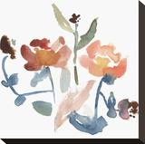 Nouveau Boheme No. 2 - Japanese Garden Series Stretched Canvas Print by Kiana Mosley