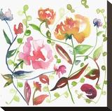Nouveau Boheme No. 2 Stretched Canvas Print by Kiana Mosley