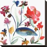 Nouveau Boheme No. 6 Stretched Canvas Print by Kiana Mosley