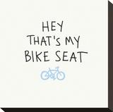 Bike Seat Impressão em tela esticada por  Urban Cricket