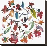 Nouveau Boheme No. 4 Stretched Canvas Print by Kiana Mosley