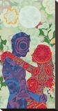 Kärlek Sträckt kanvastryck av Teofilo Olivieri