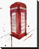 London's Calling Stretched Canvas Print by Jessica Durrant