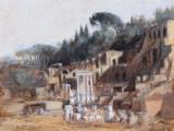 Small View of Rome Reproduction procédé giclée par Carl Timner