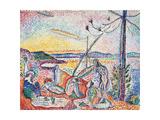 Luxe, Calm And Volupt, by Henri Matisse, 1904, 20th Century Gicléedruk van Henri Matisse
