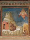St Francis Receiving the Stigmata Lámina giclée por  Giotto di Bondone
