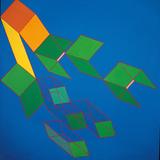 Dissipative Structures Giclée-tryk af Achille Perilli