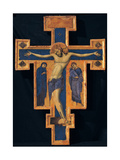 Crucifix Posters af  Master of the Blue Crosses
