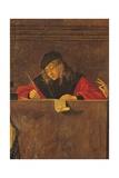 Legend of St. Ursula. Dismissal of the English Ambassadors Plakat af Vittore Carpaccio