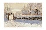 Die Elster Kunstdrucke von Claude Monet