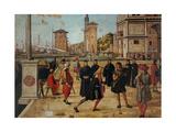 Legend of St. Ursula. The Return of the Ambassadors Plakat af Vittore Carpaccio