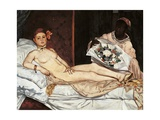 Olympia Posters by Edouard Manet