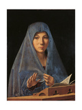 Virgin Annunciate Poster by Antonello da Messina
