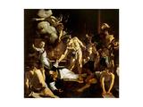 Martyrdom of St. Matthew Juliste tekijänä  Caravaggio