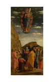Uffizi Triptych. Ascension of the Christ Art by Andrea Mantegna