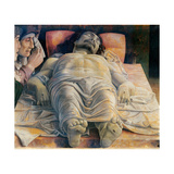 Christo in Scurto (Foreshortened Christ or the Dead Christ) Art by Andrea Mantegna