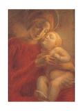 Madonna and Child Prints by Gaetano Previati