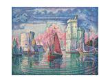 Port of La Rochelle Posters by Paul Signac