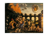 Triumph of Virtue Poster by Andrea Mantegna