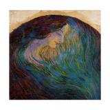 Woman's Head Kunst av Umberto Boccioni