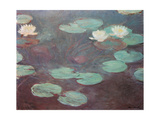 Water lilies (or Nympheas) Giclée-Premiumdruck von Claude Monet