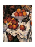 Apples and Oranges Prints by Paul Cézanne