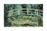 White Water Lillies Poster von Claude Monet
