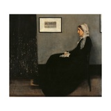 Arrangement in Gray and Black No. 1 (Whistler's Mother) Posters par James Abbott McNeill Whistler