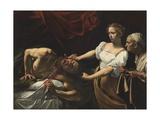 Judit katkaisee Holoferneen kaulan Julisteet tekijänä  Caravaggio