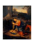 Madonna Adoring the Child Posters by  Correggio