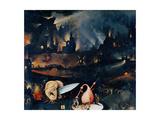 Garden of Earthly Delights-Hell Music Juliste tekijänä Hieronymus Bosch