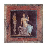 Figure Sitting Near an Herme, 25 A.D. Palazzo Massimo, Rome, Italy Poster