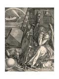 Melancholia I Láminas por Albrecht Dürer